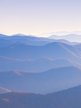 Sunrise Atop Clingman's Dome LTriptych by Jeff Abrahamson