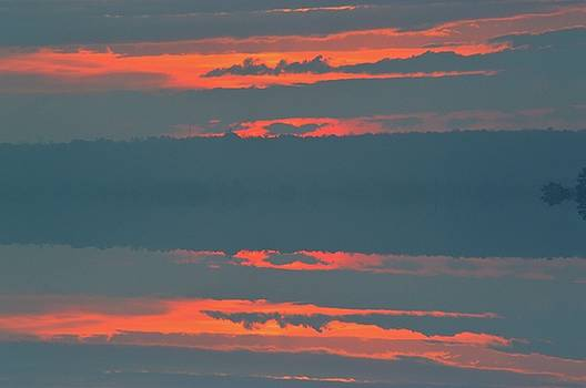 Sunrise Clouds  by Lyle Crump