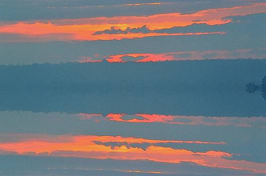 Sunrise Clouds Three  by Lyle Crump