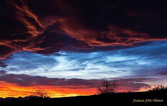 Sunrise in France by Francoise Dugourd-Caput