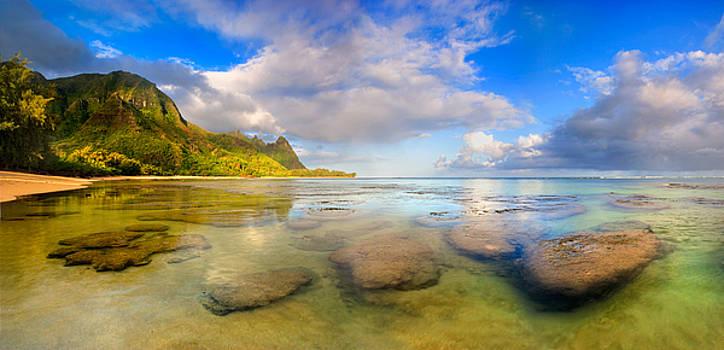Sunrise Kauai Beach by Monica and Michael Sweet