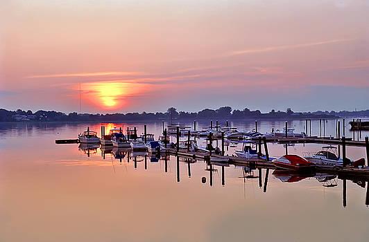 Sunrise Marina by Pat Carosone