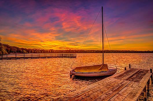 Sunrise Minneapolis by Riddhish Chakraborty