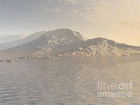 Sunrise Mountains Landscape by Phil Perkins
