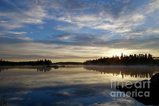 Sunrise on Lake Jeanette by Sandra Updyke
