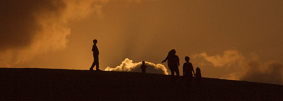 Sunrise on Mount Trashmore by Tom McElvy