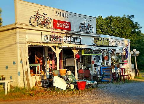 Sunrise On Nippers Grocery by Rodney Williams