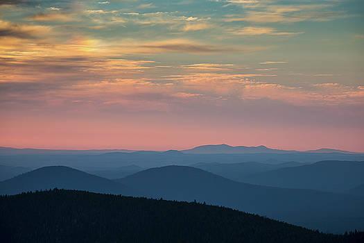 Sunrise on Paulina Peak by Christian Heeb