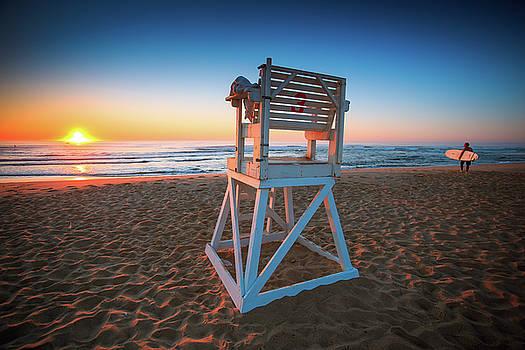 Sunrise on Surfers Paradise by Dapixara Art