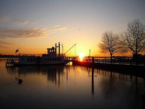 Sunrise on the Susquahanna by Ben Michalski