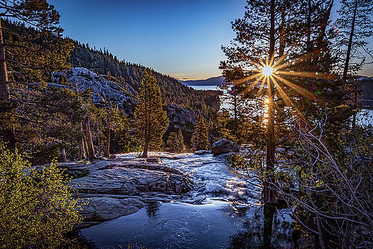 Sunrise over Emerald Bay by Janis Knight