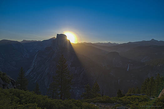 Sunrise Over Half Dome  by Phil Abrams