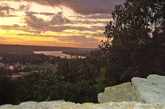 Sunrise Over Ohio River Valley by Skyler Tipton