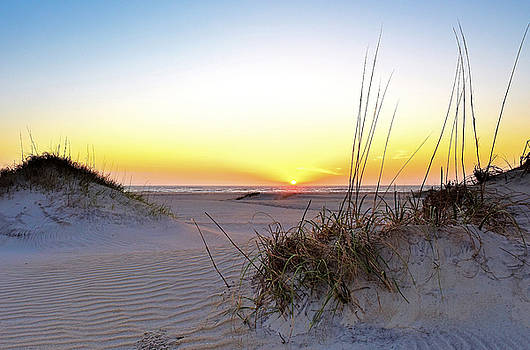 Sunrise Over Pea Island by Jamie Pattison