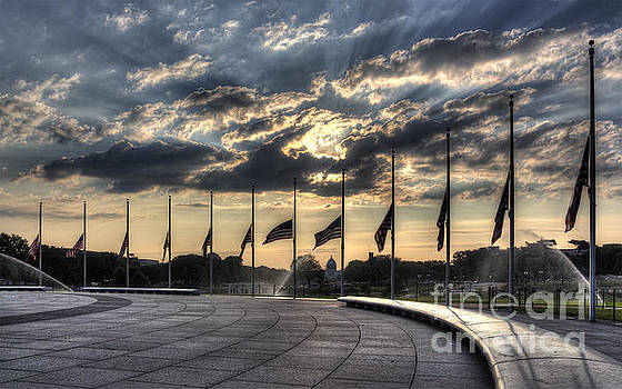 Sunrise over the U. S. Capitol by ELDavis Photography