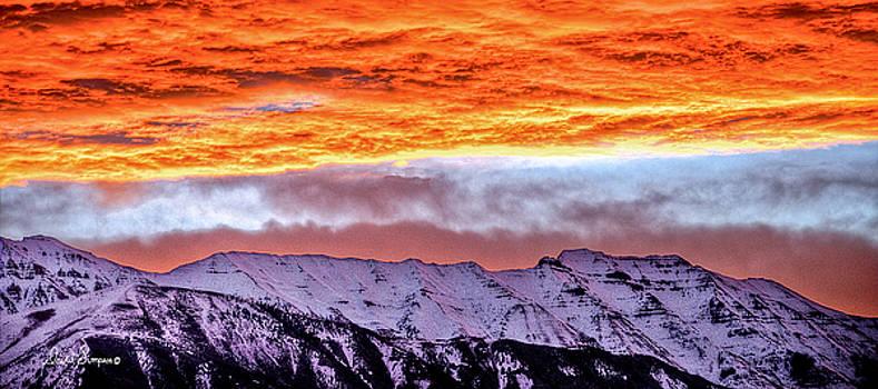 Sunrise Over Timpanogos by David Simpson