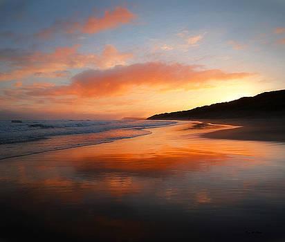 Sunrise Reflection by Roy McPeak