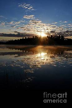 Sunrise Reflections by Sandra Updyke