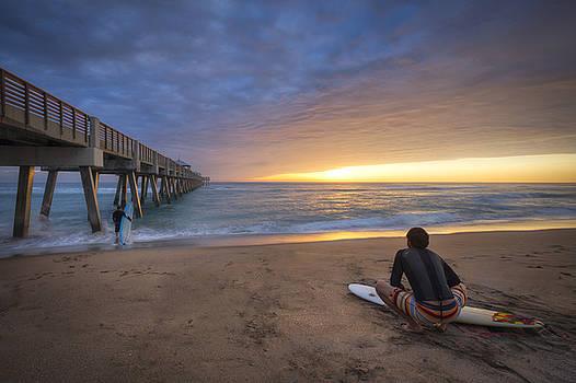 Debra and Dave Vanderlaan - Sunrise Surfer