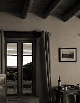 Allen Sheffield - Sunrise Through a Window - Sepia Tone