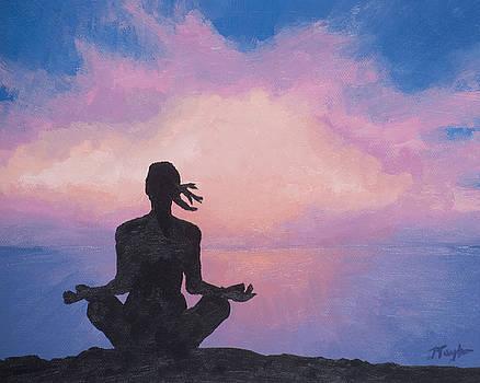 Sunrise Yoga by Julia Taylor