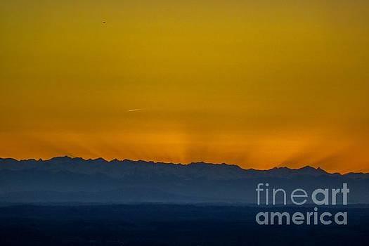 Sunset 3 by Jean Bernard Roussilhe