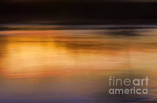 Sunset Abstraction Harpeth River by Photo Captures by Jeffery
