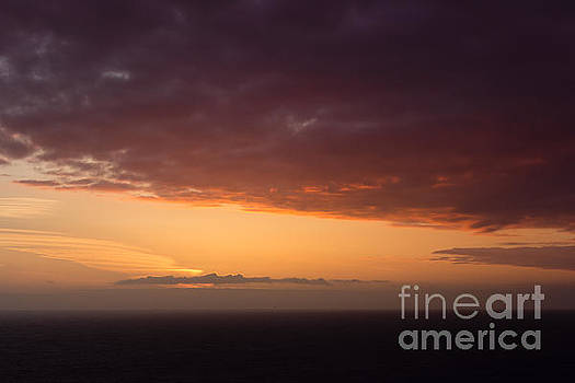 Sunset at Cape Cornwall by Kathryn Bell