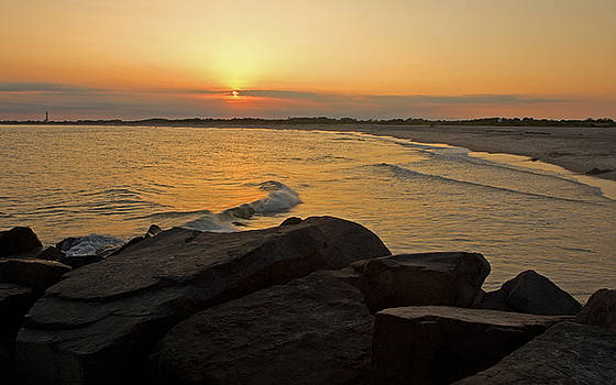 Sunset at Cape May by Robert Pilkington