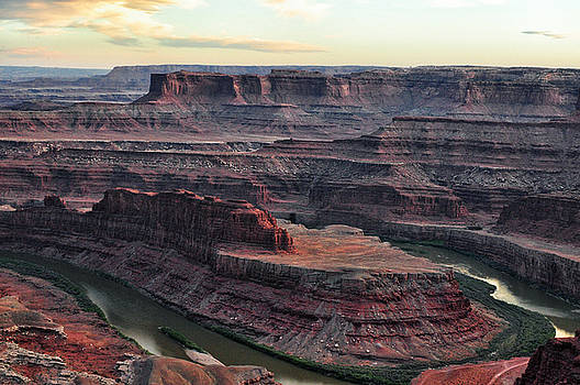Sunset at Dead Horse Point State Park - Utah by Bruce Friedman