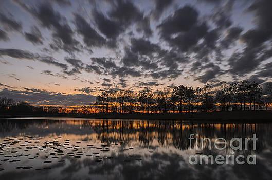 Sunset at East Lake by Tamara Becker