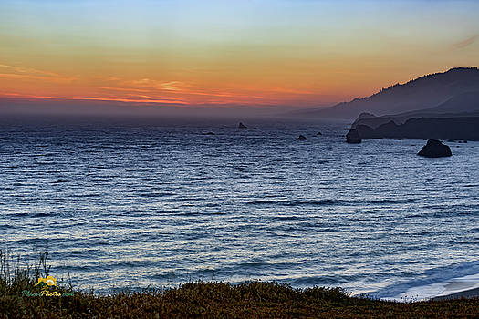 Sunset at Goat Rock by Jim Thompson