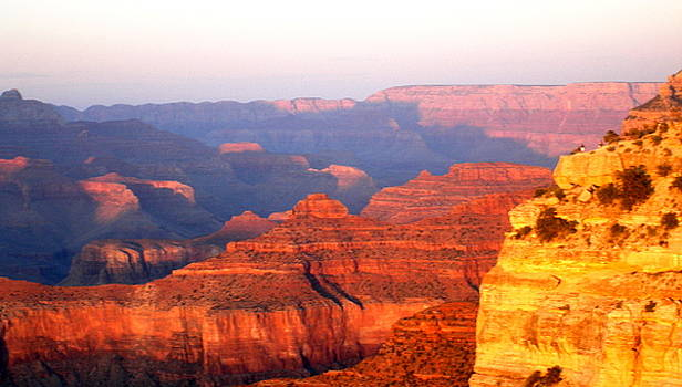 Sunset at Grand Canyon by Maria Mills