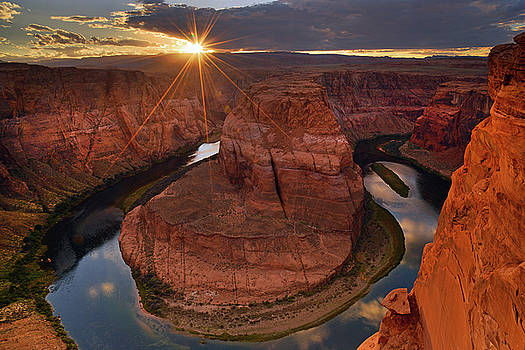 Sunset at Horseshoe Bend by David Marr