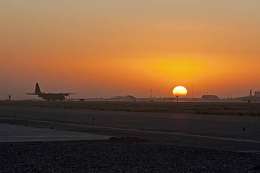 Tim Grams - Sunset at Kandahar