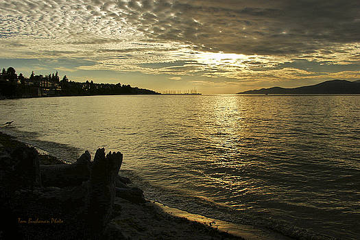 Sunset at Kitsilano by Tom Buchanan