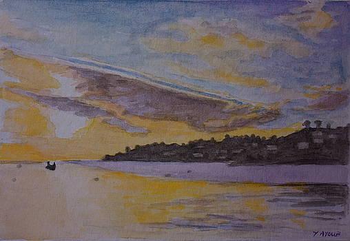 Yvonne Ayoub - Sunset at Kolios
