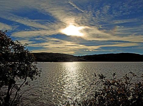 Sunset at Kolob Reservoir by Marcia Socolik