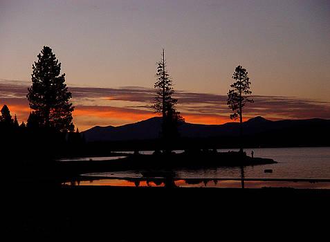 Peter Piatt - Sunset at Lake Almanor 02