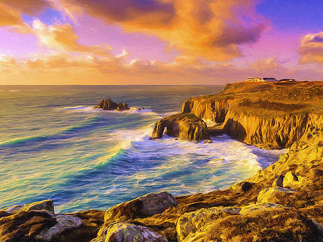 Dominic Piperata - Sunset at Land