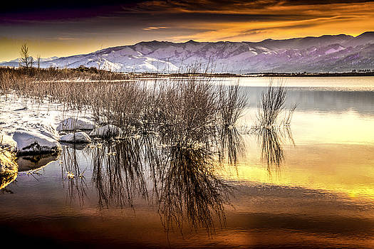 Sunset at Little Washoe by Janis Knight