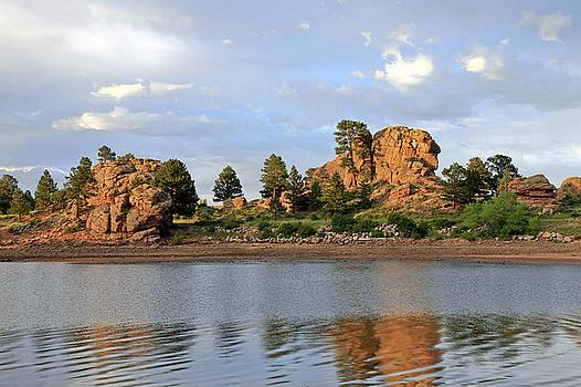 James Steele - Sunset At Marys Lake. CO