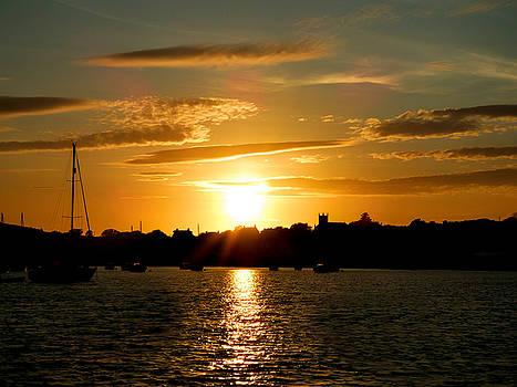 Sunset at Millport by Lynn Bolt