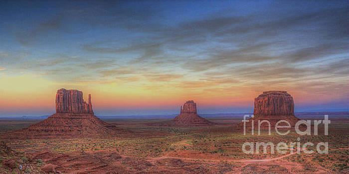Sunset at Monument Valley by ELDavis Photography