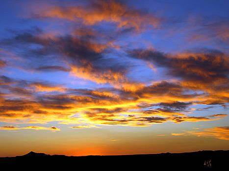 Kurt Van Wagner - Sunset at Picacho Peak