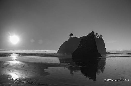 Sunset at Ruby Beach #2 by Cassius Johnson