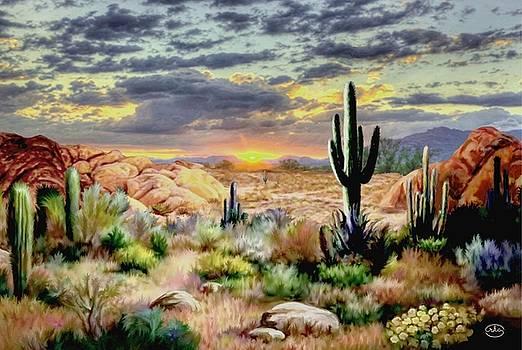 Sunset at Sadona by Ron Chambers