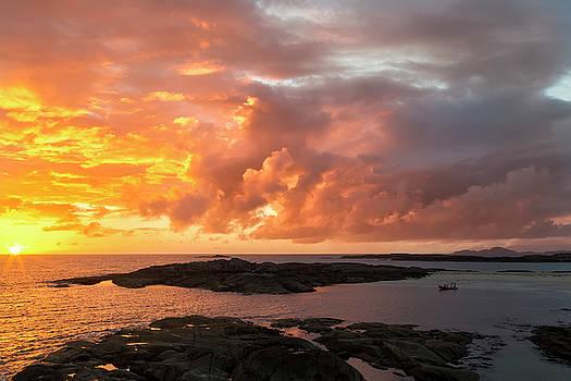 Sunset at Sanna Bay by Derek Beattie