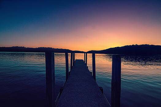 Sunset at the Lake by Victoria Winningham
