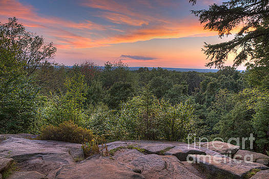 Sunset at the Ledges by Patrick Shupert